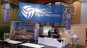 Infostand des TSV Hartberg Volleyballteam