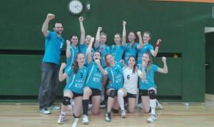 U19-Mädchen-Jubel