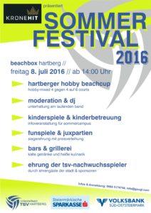Sommerfest 2016 Sujet