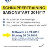 Schnuppertrainings am 21. und 26. September