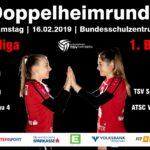 Bundesliga-Damen mit Heimspiel