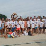Erste Volleyball-Campwoche bei Traumwetter voll im Gange