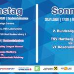 Aufregendes Heimwochenende für TSV-Teams
